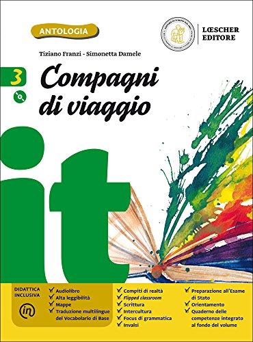 9788858319628: Compagni di viaggio. Per la Scuola media. Con e-book. Con espansione online. Con CD-ROM: 3