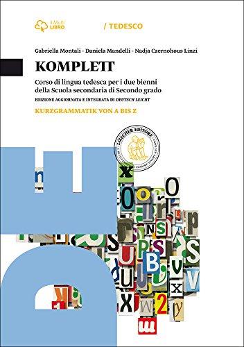 9788858320211: Komplett. Kursbuch-Arbeitsbuch-Fit-Kurzgrammatik. Per le Scuole superiori. Con CD-ROM. Con e-book. Con espansione online (Vol. 2)
