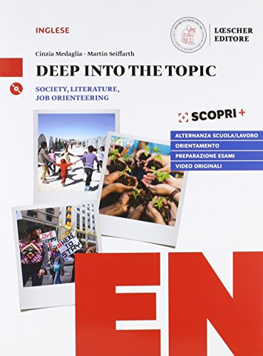 9788858328804: Deep into the topic. Con CD Audio [Lingua inglese]
