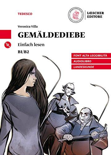 9788858329429: Gemäldediebe. Livello B1/B2. Con CD-Audio [Lingua tedesca]