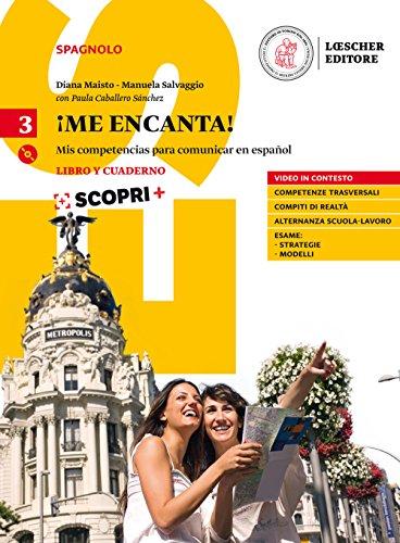 9788858330227: Me encanta! Mis competencias para comunicar en español. Libro y Cuaderno con CD mp3. Volume 3 [Lingua spagnola]: Vol. 3