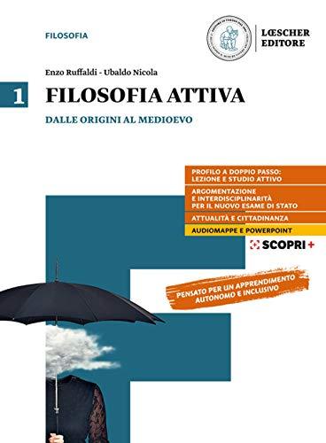 9788858330302: Filosofia attiva. Per il triennio delle Scuole superiori. Con e-book. Con espansione online: 1