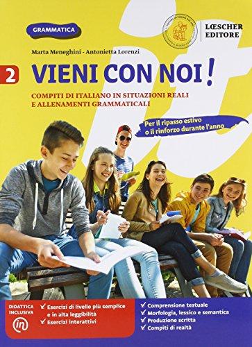 9788858330623: Vieni con noi! Compiti di italiano in situazioni reali e allenamenti grammaticali. Per la Scuola media. Con e-book. Con espansione online: 2