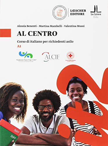 9788858331606: Al centro. Corso di italiano per richiedenti asilo