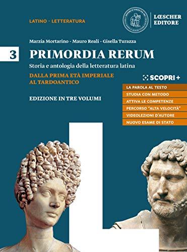 9788858333129: Primordia rerum. Storia e antologia della letteratura latina. Per il triennio delle Scuole superiori. Con e-book. Con espansione online: 3