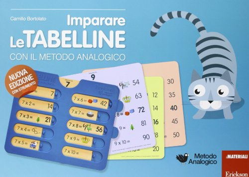 9788859004240: Imparare le tabelline con il metodo analogico. Con gadget (I materiali)