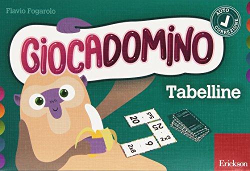 9788859008378: Tabelline. Giocadomino: 1