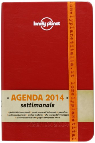 9788859203827: Agenda Lonely Planet settimanale 2014