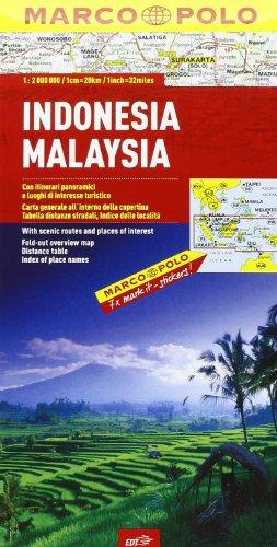 9788859204862: Indonesia, Malaysia 1:2.000.000