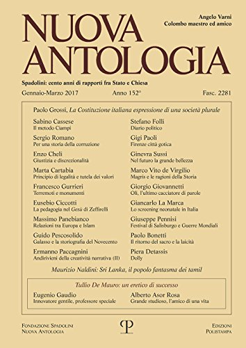 Nuova Antologia - a. CLII, n. 2281,: Not Available