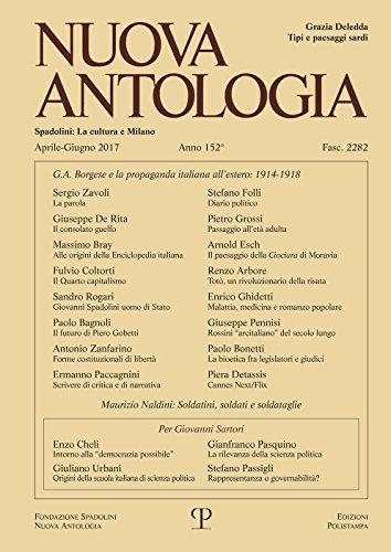 Nuova Antologia - a. CLII, n. 2282,