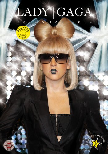 9788859705185: Lady Gaga 2012 A3 Calendar with FREE stickers