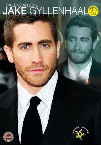 9788859705482: Jake Gyllenhaal 2012 A3 Calendar with FREE STICKERS
