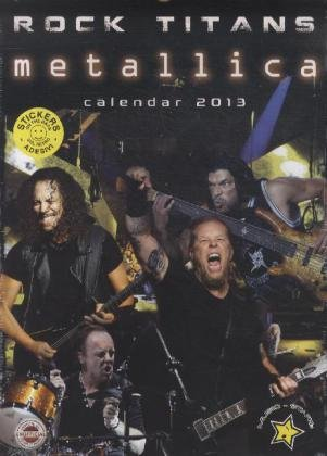 9788859706137: Metalicca A3 2013 Calendar with FREE stickers.