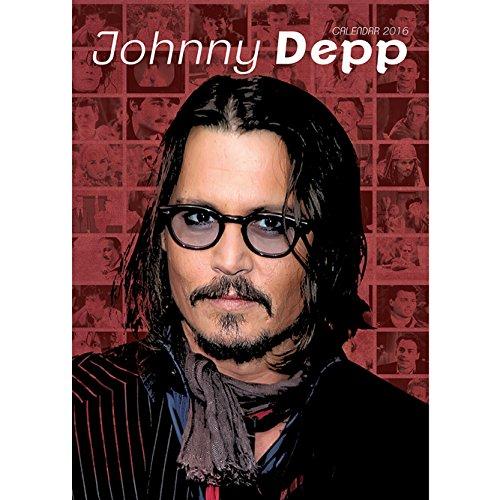 9788859709121: Johnny Depp A3 Calendar 2016