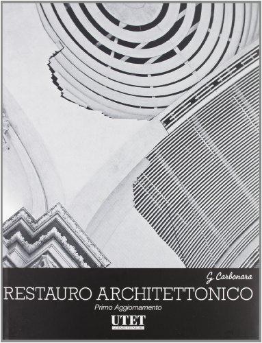 9788859801238: Trattato di restauro architettonico. Primo aggiornamento. Con CD-ROM: 9