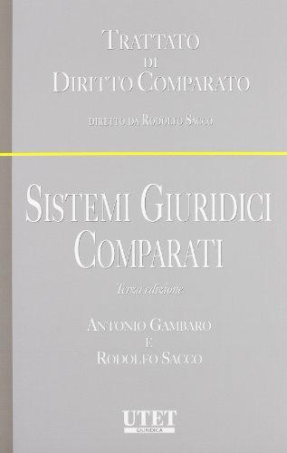 9788859802266: Sistemi giuridici comparati (Trattato di Diritto Comparato)
