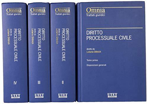 9788859821403: Diritto processuale civile (Trattati giuridici)