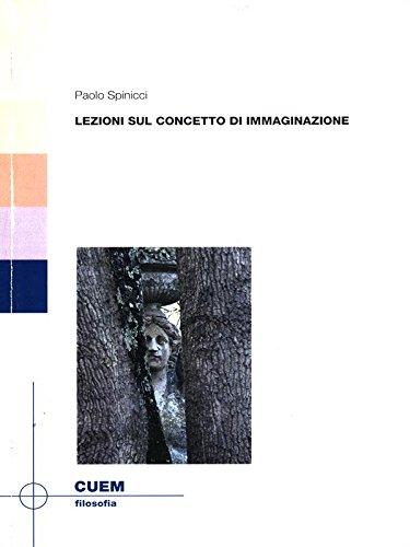 9788860012333: Lezioni sul concetto di immaginazione (Filosofia)