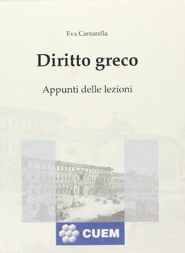 Diritto greco.: Cantarella, Eva