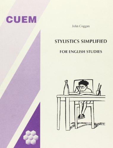 9788860017048: Stylistics simplified for english studies (Lingua e letteratura inglese)