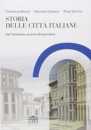 9788860081070: Storia delle citt� italiane