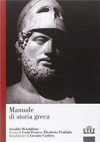 9788860084194: Manuale di storia greca