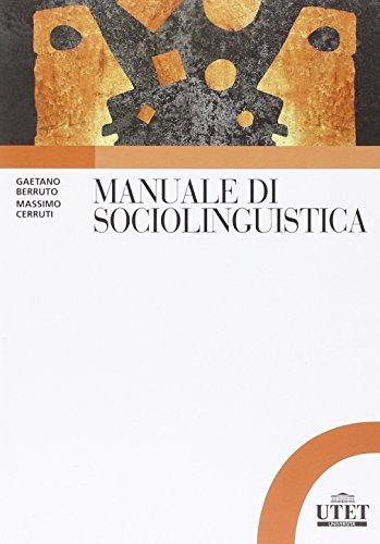 Manuale di sociolinguistica: Gaetano Berruto; Massimo