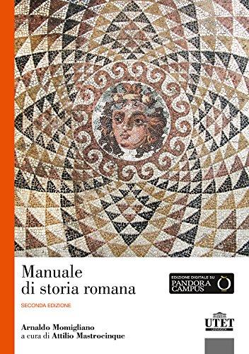9788860084712: Manuale di storia romana
