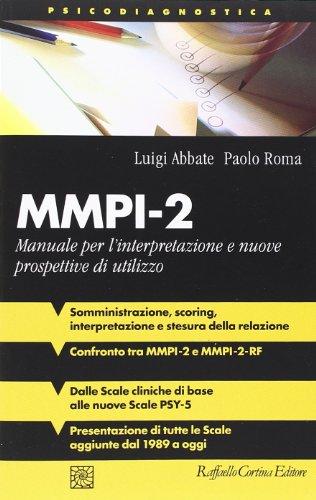 mmpi 2 manuale per l interpretazione e nuove prospettive di rh abebooks com mmpi 2 manuale mmpi 2 manuale