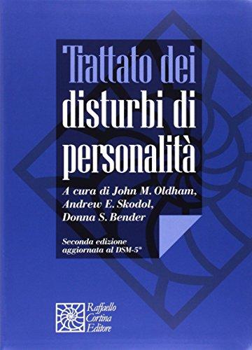 9788860308849: Trattato dei disturbi di personalità