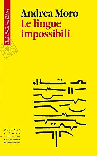 9788860309501: Le lingue impossibili