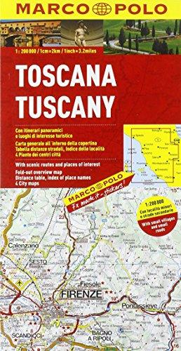 9788860408440: Toscana 1:200.000. Ediz. multilingue