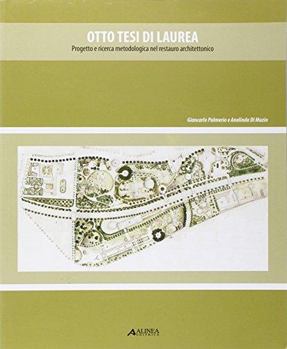 Otto Tesi di Laurea. Progetto e Ricerca: Di Muzio, Anelinda;Palmiero,