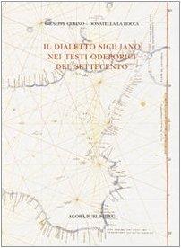 Il Dialetto siciliano nei testi odeporici del: Gulino, Giuseppe -