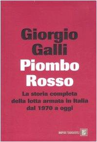 9788860731531: Piombo Rosso