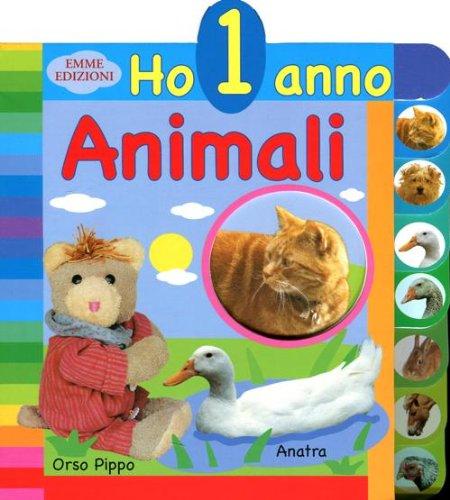 9788860799227: Animali. Ho 1 anno