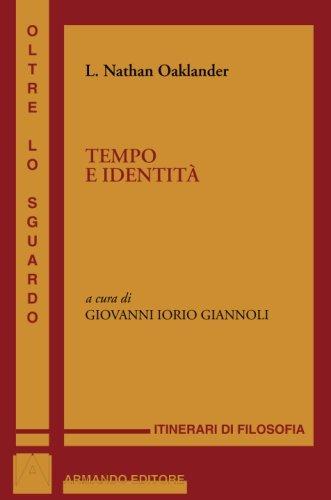 9788860814777: Tempo e identità (Italian Edition)