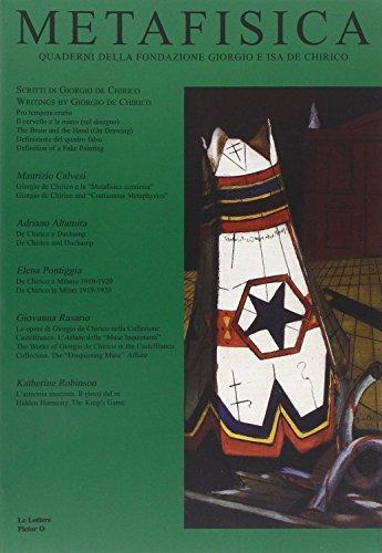 9788860870964: Metafisica. Quaderni della fondazione Giorgio e Isa De Chirico. 5/6. 2005-2006.