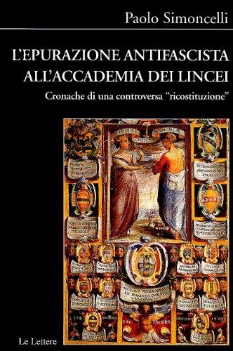 L'epurazione antifascista nei licei. Cronache di una controversa «ricostruzione» (8860872839) by Paolo Simoncelli