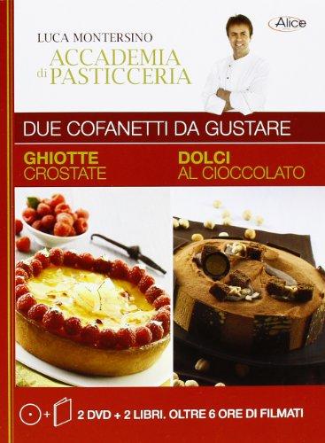 9788861071537: Ghiotte crostate. Dolci al cioccolato. Con 2 DVD