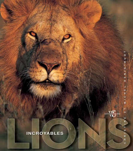 9788861121942: Incroyables lions
