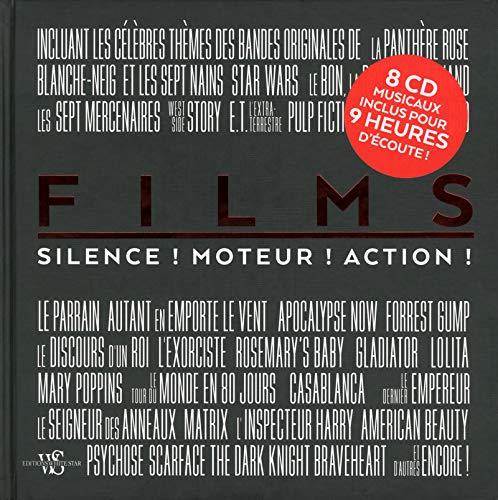 FILMS: MUSIQUE! MOTEUR! ACTION! - COFFRET (LIVRE + 8 CD)