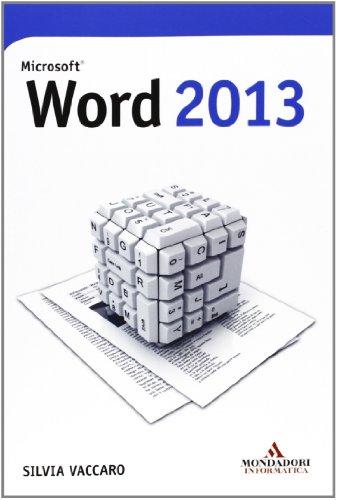 9788861143753: Microsoft Word 2013