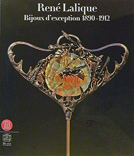 9788861300989: Rene Lalique. Bijoux d'exception 1890-1912