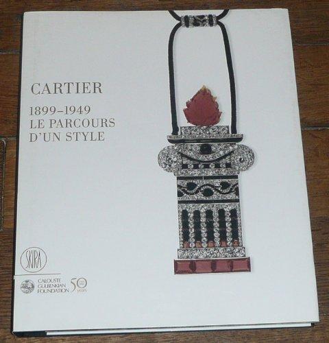 9788861301528: Cartier 1899-1949 : Le parcours d'un style
