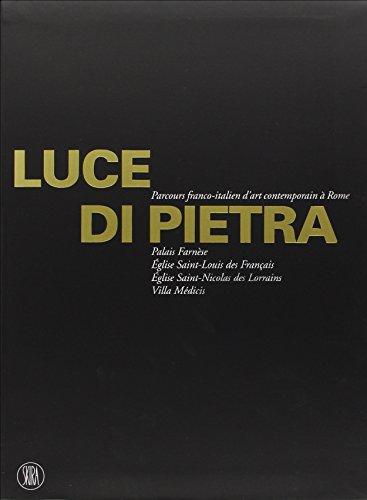 """""""Luce di Pietra ; parcours italo-français contemporaine à rome"""": Giorgio ..."""
