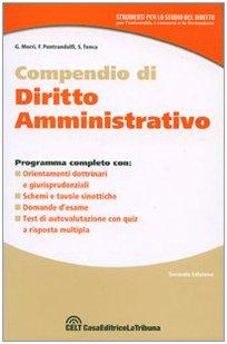 9788861320659: Compendio di diritto amministrativo