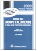 9788861322745: Codice del nuovo fallimento e delle altre procedure concorsuali (Tribuna pocket)