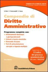 9788861325296: Compendio di diritto amministrativo
